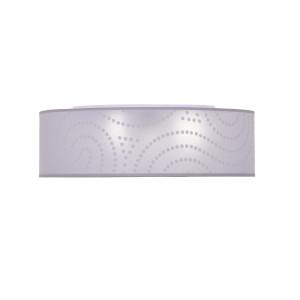 RAVA-400 white abażur plafon LED