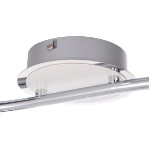 ROB-2 biały+chrom lampa sufitowa spot LED 2x4W