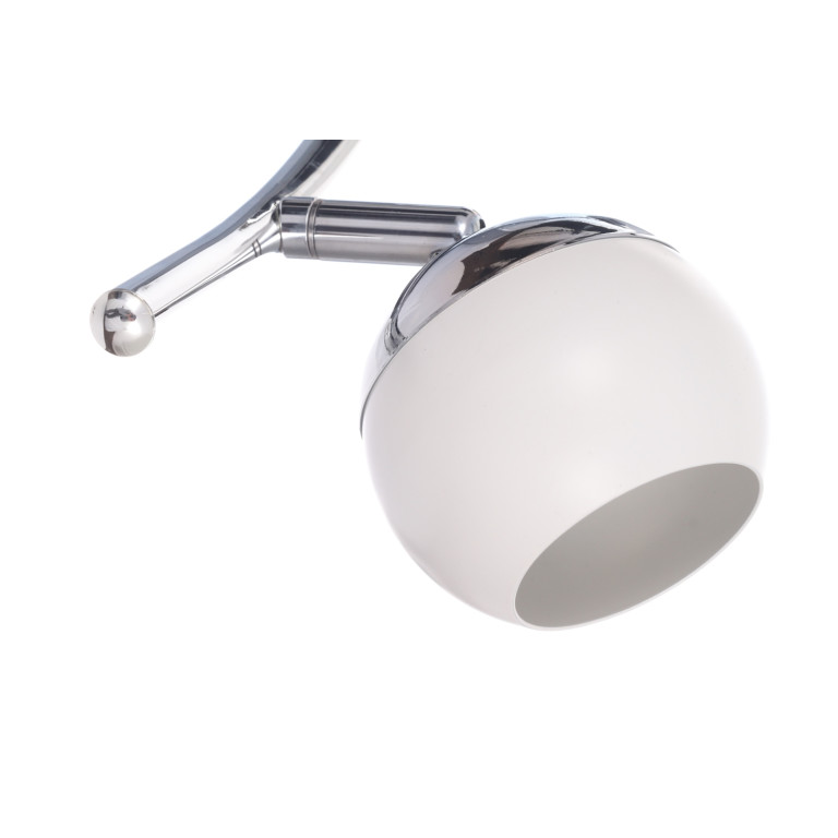 ROB-3 biały+chrom lampa sufitowa spot LED 3x4W