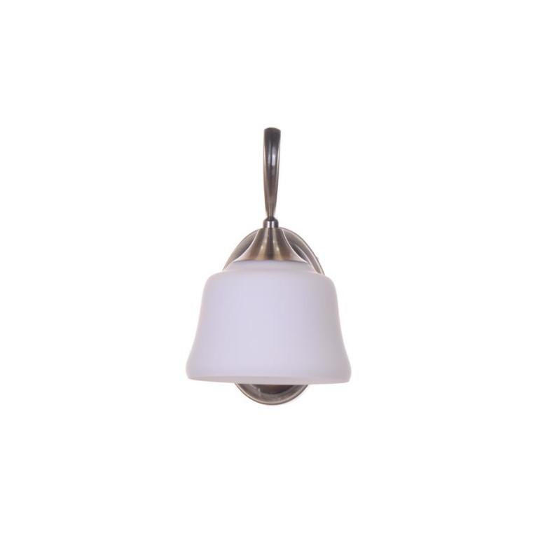 RODEZ-1 antique brass lampa kinkiet