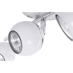 SAM-3 biała+chrom lampa