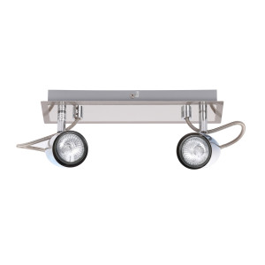 STANLEY-2R spot lampa chrom + satyna GU10