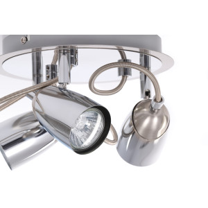STANLEY-3R spot lampa chrom + satyna GU10