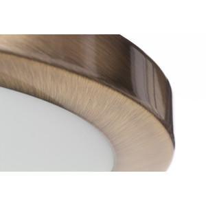 TOM30 antyczny mosiądz lampa sufitowa plafon E27