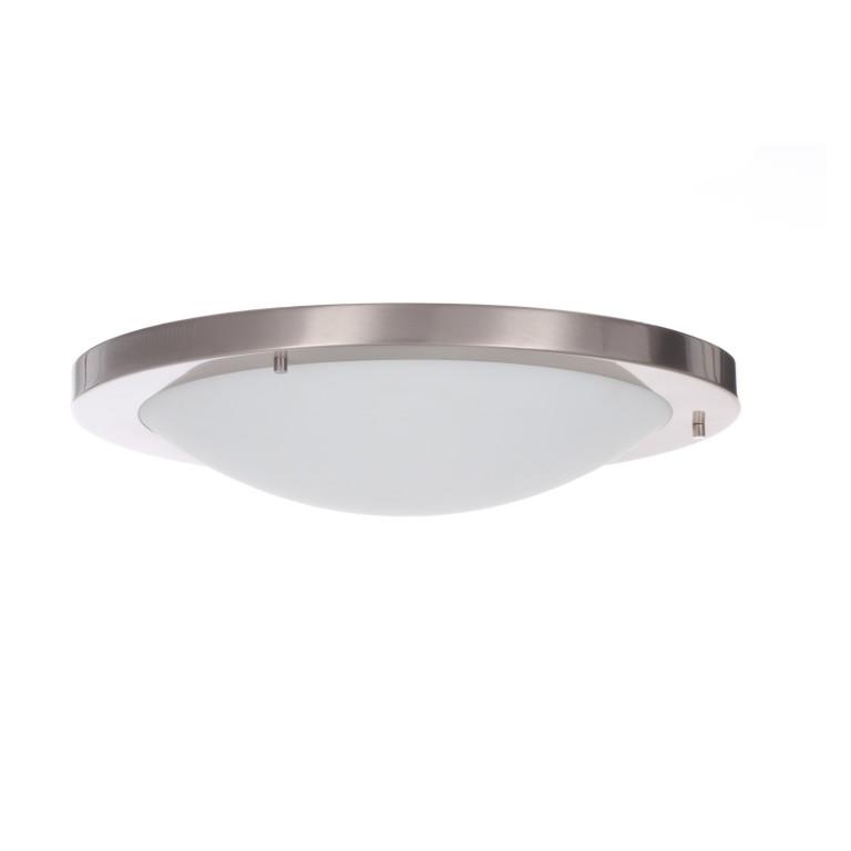 TOM40 satynowy nikiel lampa sufitowa plafon E27