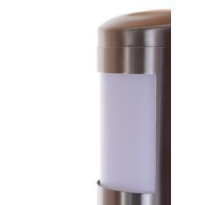 WAJANA inox lampa ogrodowa ścienna kinkiet IP44