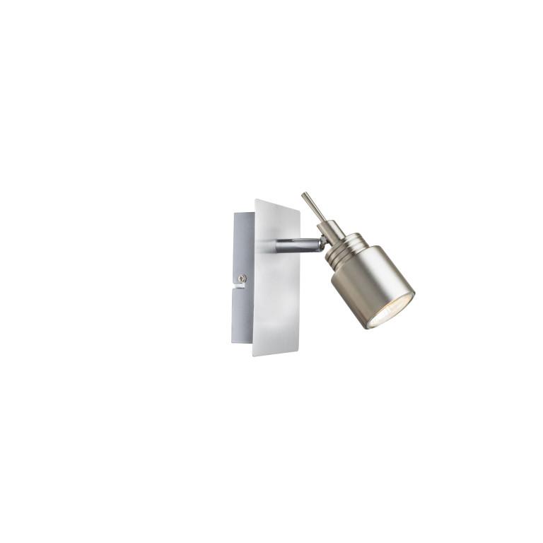 WESTA-1 satn nickel lampa ścienna kinkiet spot