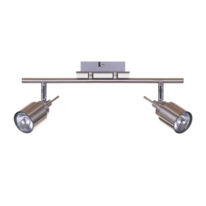WESTA-2 satin nickel lampa sufitowa spot 2xGU10