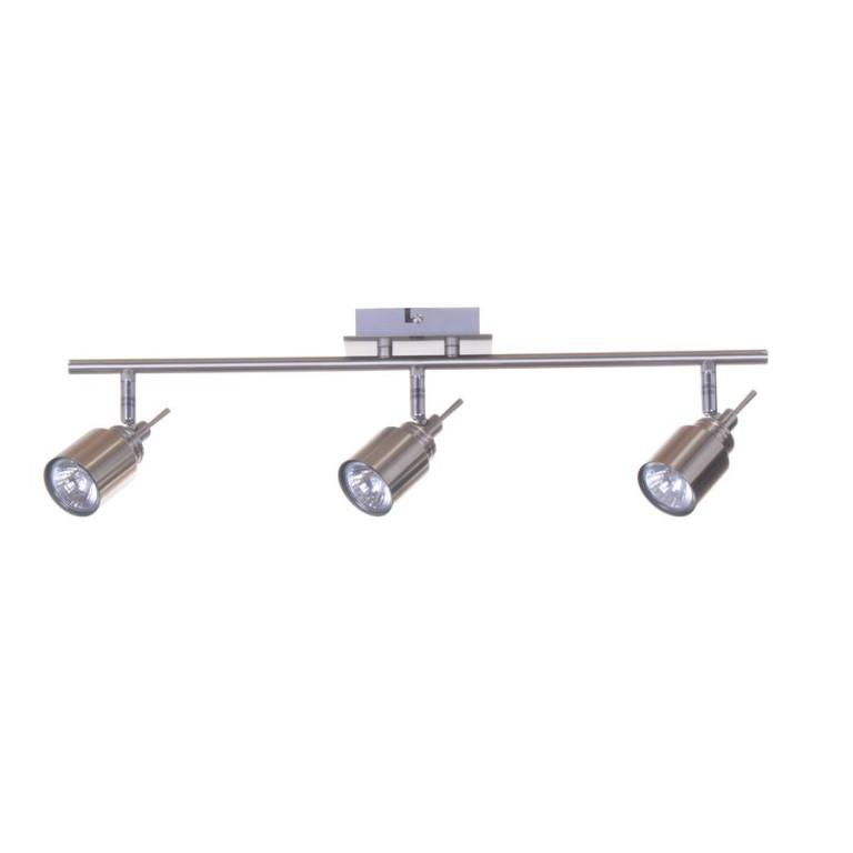 WESTA-3 satin nickel lampa sufitowa spot 3xGU10