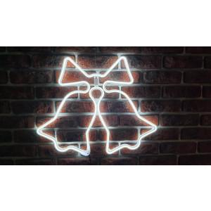 DZW50-2 b.zimny IP44 zewn. dzwonek akryl na okno