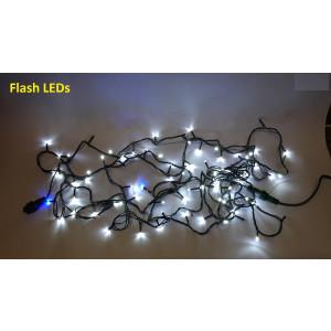 FL02-3 l.choinkowe zewn.200 LED c.biały FLASH gn.