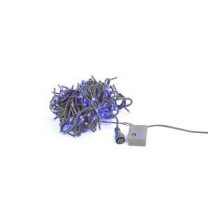 FL03-2 l.choinkow zewn.300LED niebieski FLASH gn