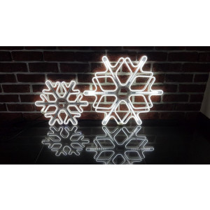 """GW30-2 biały zimny """"GWIAZDA"""" LED 30cm acryl"""