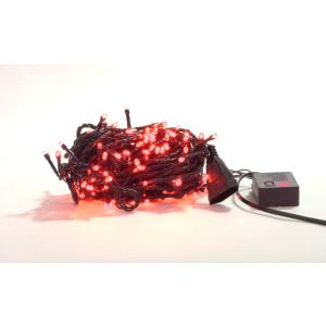 LM005-4 l.choinkowe wew.200LED czerwony gniazdo+pr